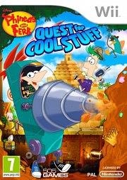 Carátula de Phineas y Ferb: Quest Cool Stuff - Wii