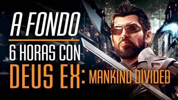 V�deo Avance de Deus Ex: Mankind Divided