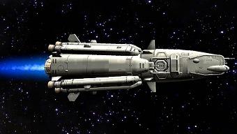 Civilization IV:  Un jugador manda un cohete al espacio en el año 210 a.C.