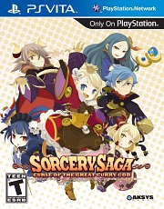Carátula de Sorcery Saga: Curse of the Great - Vita