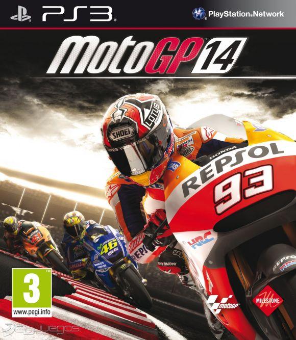 Carátula oficial de MotoGP 14 - PS3 - 3DJuegos