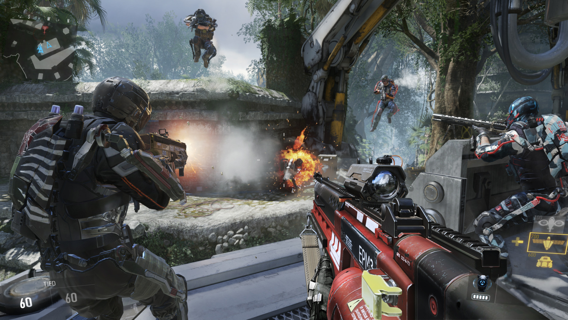 El Multijugador De Call Of Duty Advanced Warfare Disponible Gratis