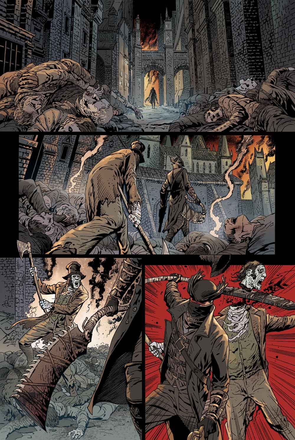 Bloodborne: primer vistazo a su cómic, que saldrá en febrero de 2018