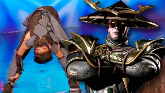 Cuando unes Mortal Kombat, baile y contorsionismo