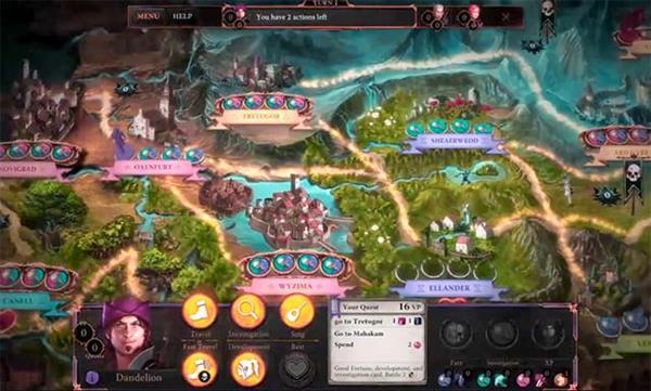 Nuevos detalles sobre the witcher adventure game 3djuegos for The witcher juego de mesa