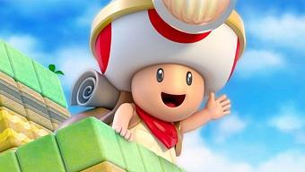 Nintendo quiso poner a Link como protagonista de Captain Toad
