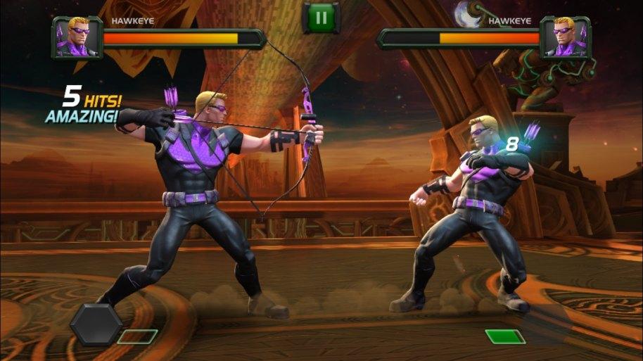 Marvel Batalla de Superhéroes iOS