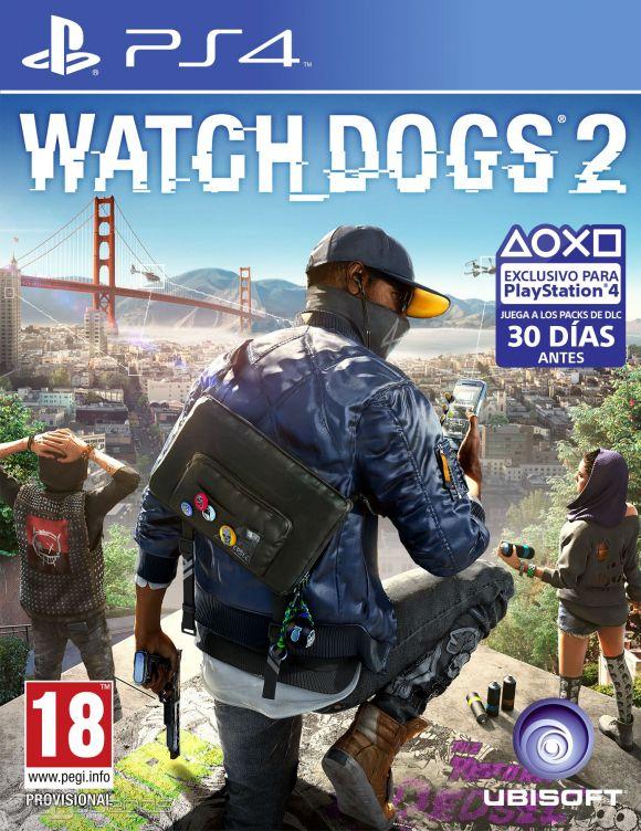 Resultado de imagen de WATCH DOGS 2 ps4 caratula