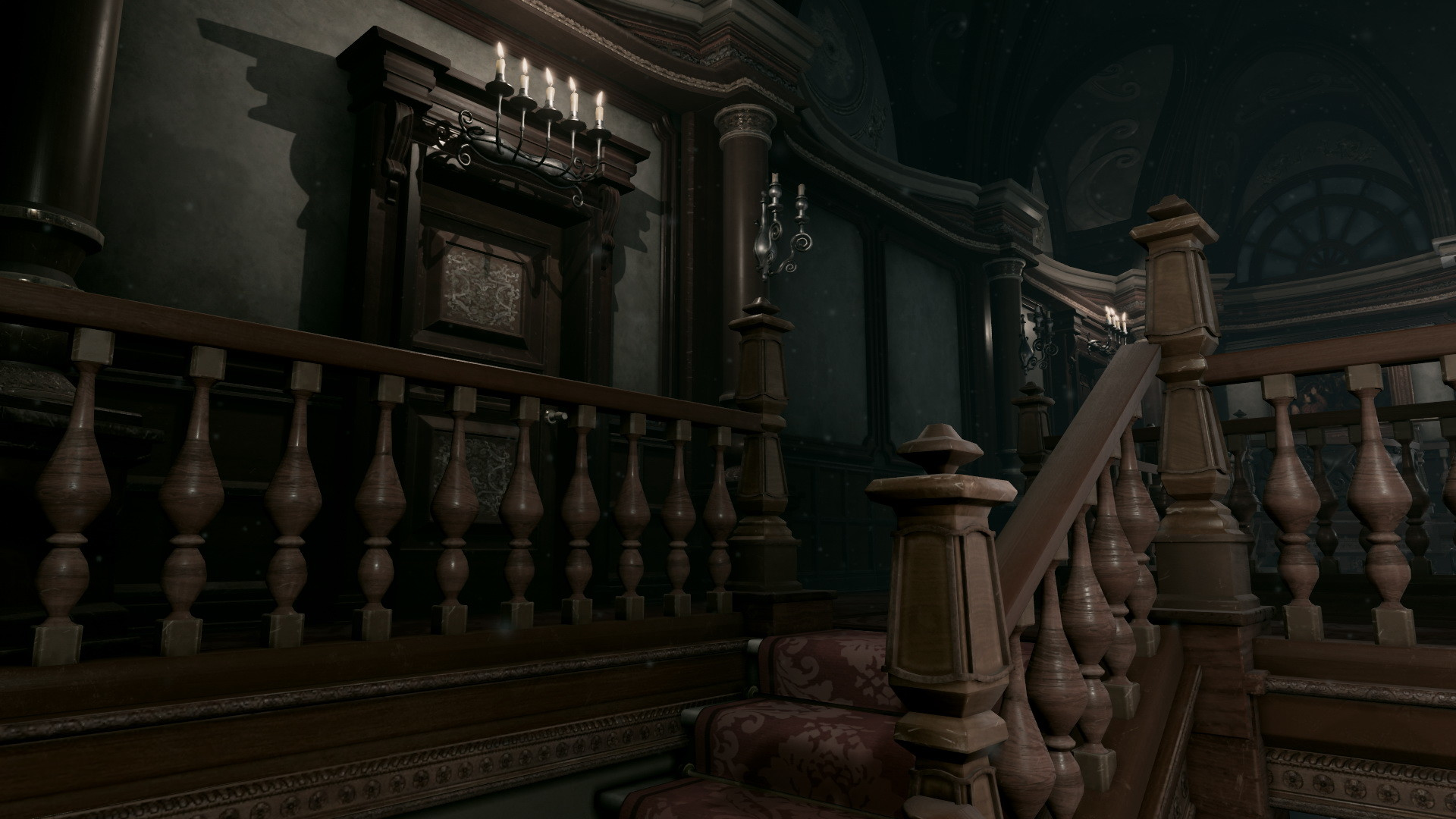 Resident Evil: Recrean la mansión del videojuego original con el Unreal Engine 4