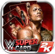 Carátula de WWE SuperCard - iOS