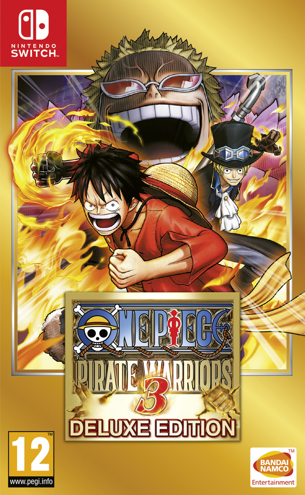 One Piece Pirate Warriors 3 Deluxe Edition llegará a Switch el 18 de mayo