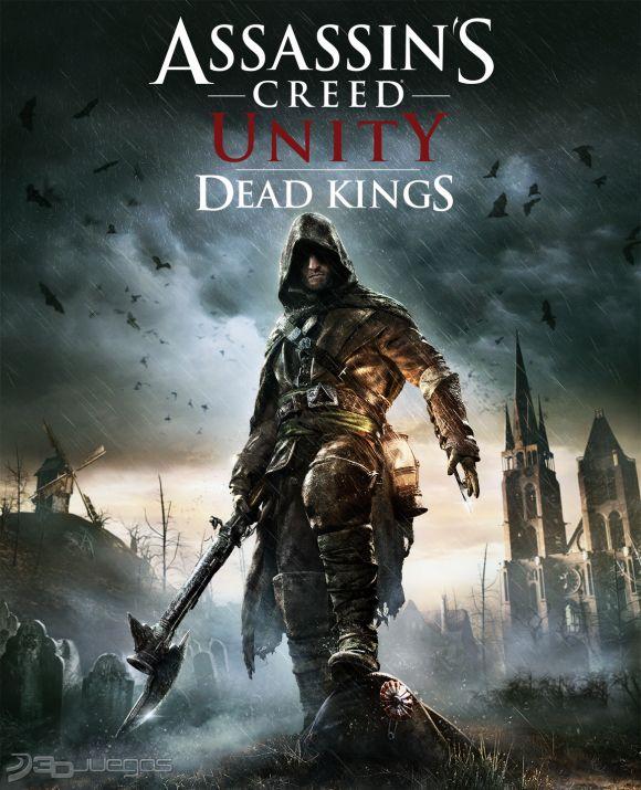 Book Cover Illustration Xbox One : Assassin s creed unity reyes muertos para ps djuegos