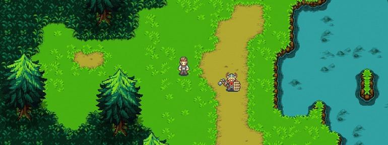 Esta es la única imagen, por ahora, del nuevo videojuego de Ron Gilbert.