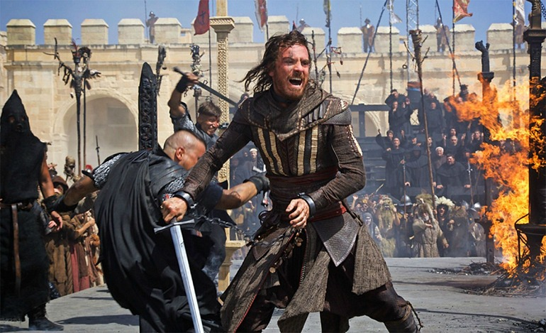 Fotograma de la película de Assassin's Creed