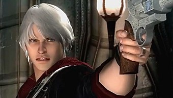 Video Devil May Cry 4: Special Edition, Nero - Gameplay