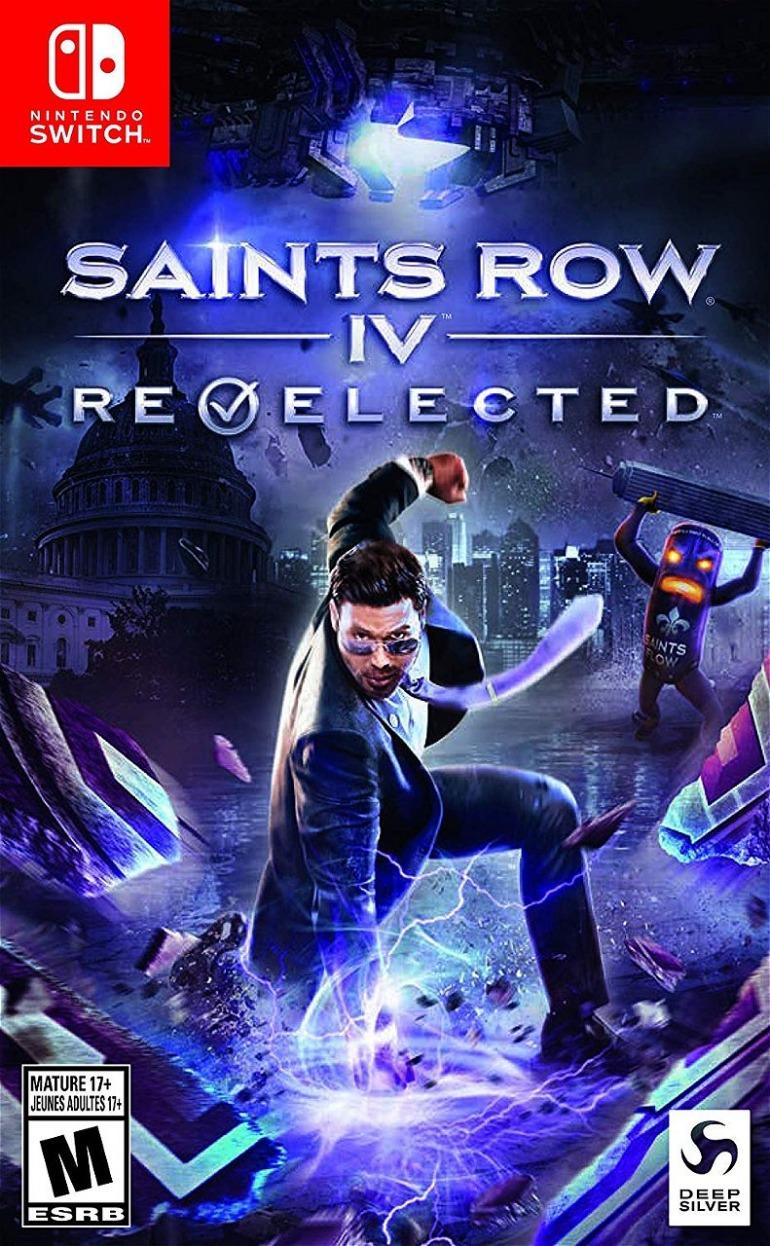 Resultado de imagen de saints row 4 re elected switch