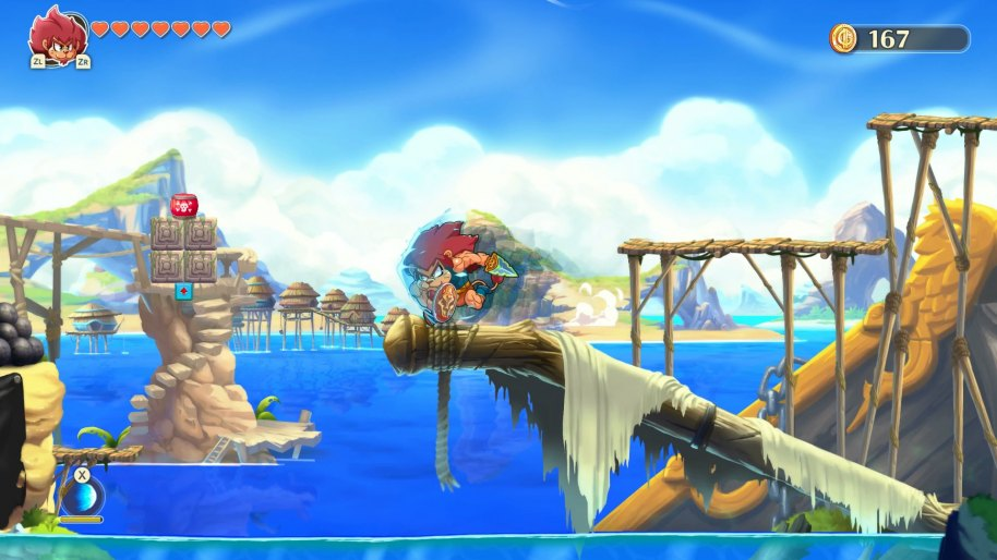 Monster Boy and the Cursed Kingdom análisis