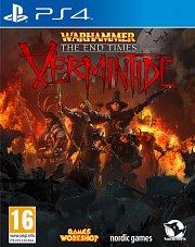 Carátula de Warhammer: The End Times - Vermintide - PS4