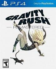 Carátula de Gravity Rush Remastered - PS4