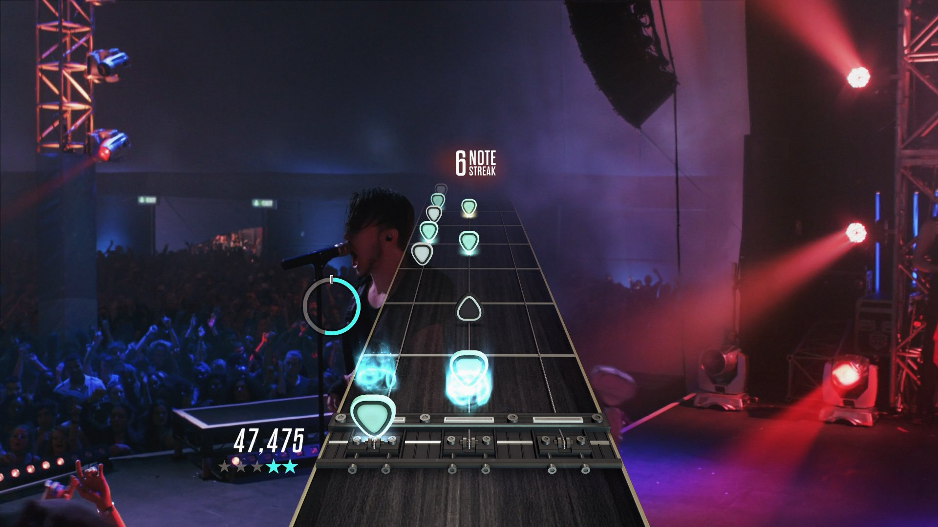 how to guitar hero live