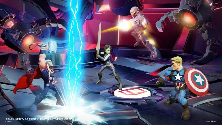 Los héroes de Marvel han sido uno de los últimos protagonistas en sumarse a la acción de Disney Infinity 3.0