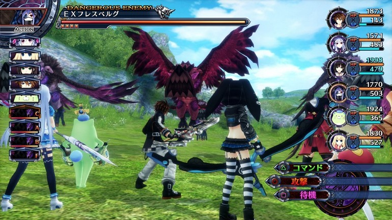 Fairy Fencer F: Advent Dark Force arriverà su Nintendo