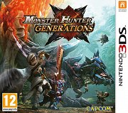 Carátula de Monster Hunter: Generations - 3DS
