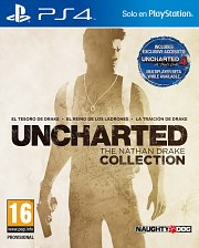 Carátula de Uncharted: Nathan Drake Collection - PS4