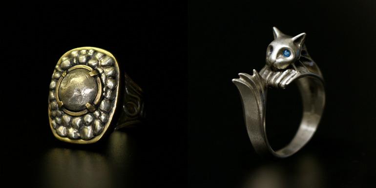 Anillo de Havel y anillo Silvercat