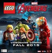 Carátula de LEGO Marvel Vengadores - Wii U