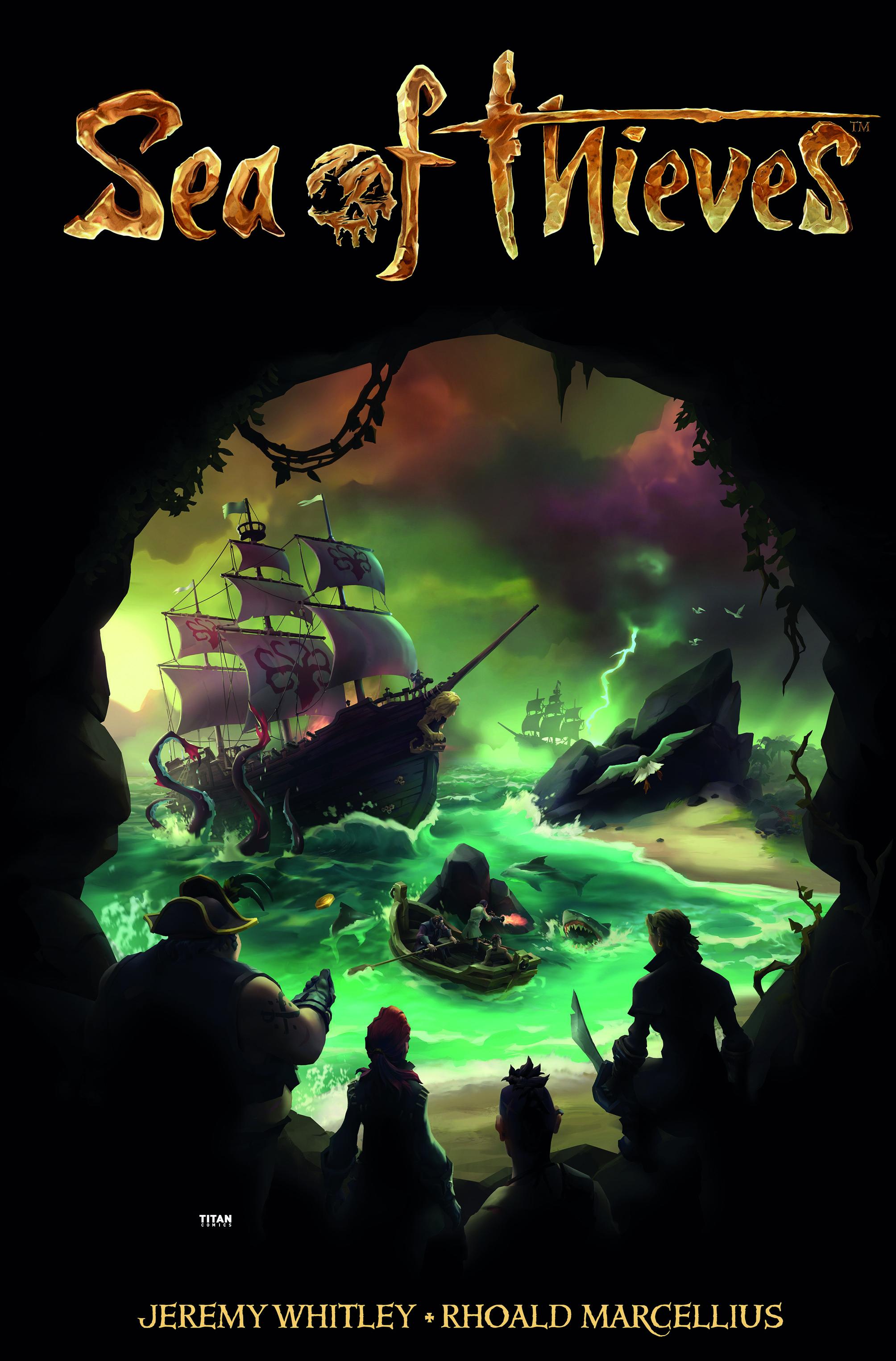 Sea of Thieves tendrá una línea de cómics que se estrenará en 2018