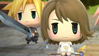 World of Final Fantasy, Spot de Lanzamiento