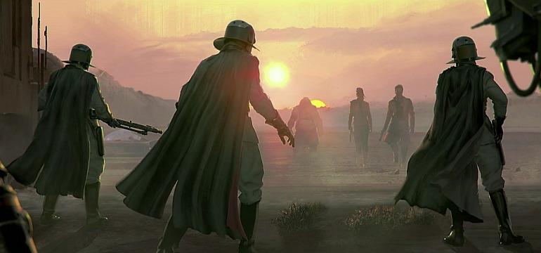 Imagen del proyecto sobre La Guerra de las Galaxias de los creadores de Dead Space