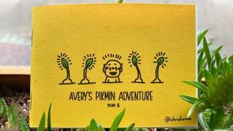 Regresan los Pikmin gracias a un simpático cómic que un padre ha dibujado día a día para su hijo