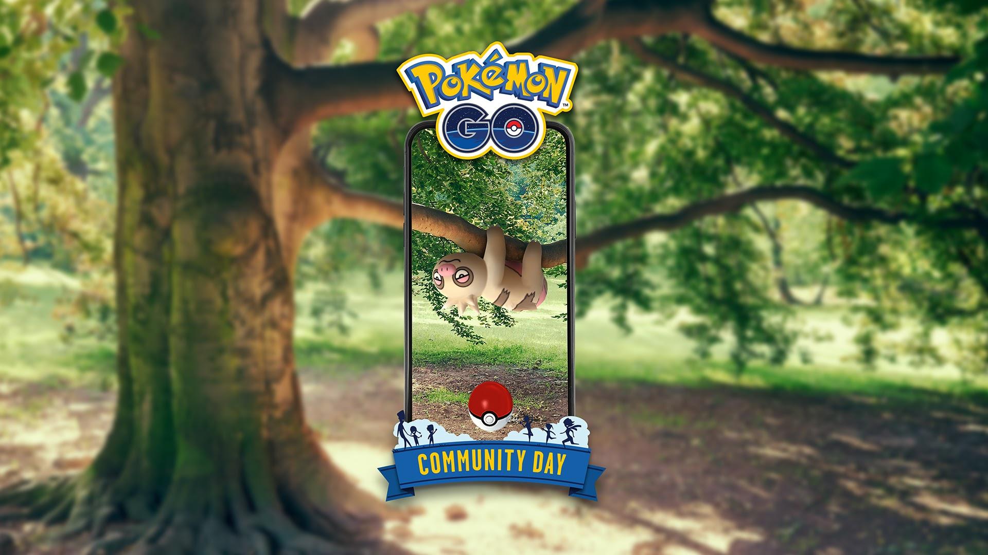 Pokémon Go: Slakoth será la estrella del próximo Día de la Comunidad