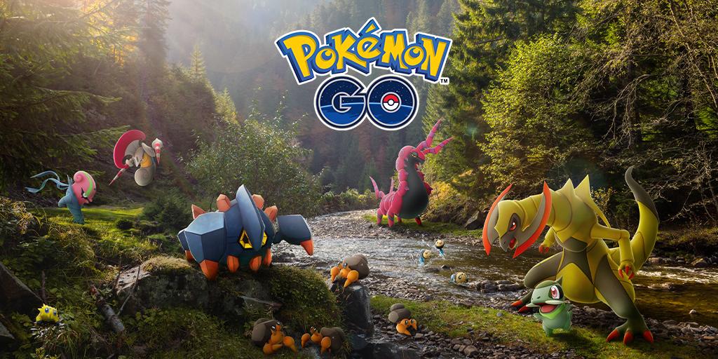 Pokémon Go recibe las evoluciones por intercambio y más Pokémon de Teselia