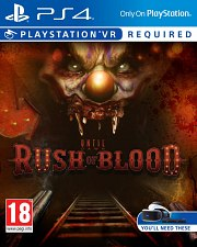 Carátula de Until Dawn: Rush of Blood - PS4