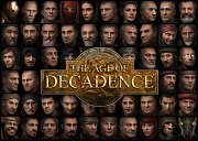 Carátula de The Age of Decadence - PC