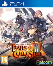 Carátula de The Legend of Heroes: Trails of Cold Steel III - PS4