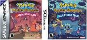 Pokémon Mundo Misterioso: Rojo / Azul