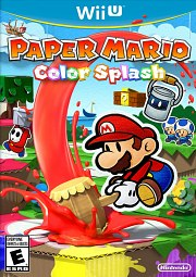 Carátula de Paper Mario: Color Splash - Wii U