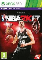 Carátula de NBA 2K17 - Xbox 360