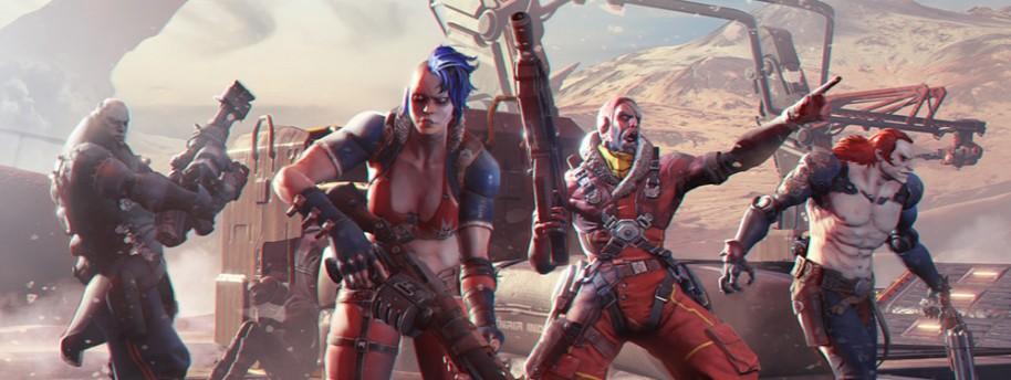 Raiders of the Broken Planet: shooter espacial contraoperativo 4vs1