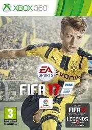 Carátula de FIFA 17 - Xbox 360