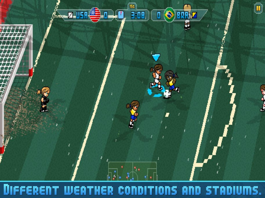 Pixel Cup Soccer 16 análisis