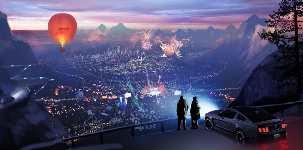 Surgen imágenes conceptuales del hipotético Forza Horizon 4