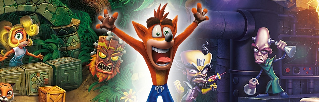 Análisis Crash Bandicoot N. Sane Trilogy