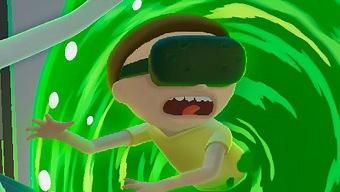 Rick y Morty se pasan a la realidad virtual de HTC Vive con Virtual Rick-ality