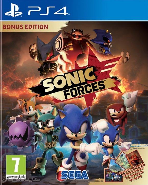 Sonic Forces Para Ps4 3djuegos