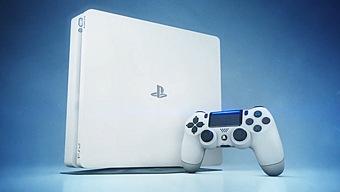PlayStation 4 Slim: Glacier White